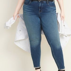 NWT Old Navy Plus 22 High Waist Secret Slim Jeans!